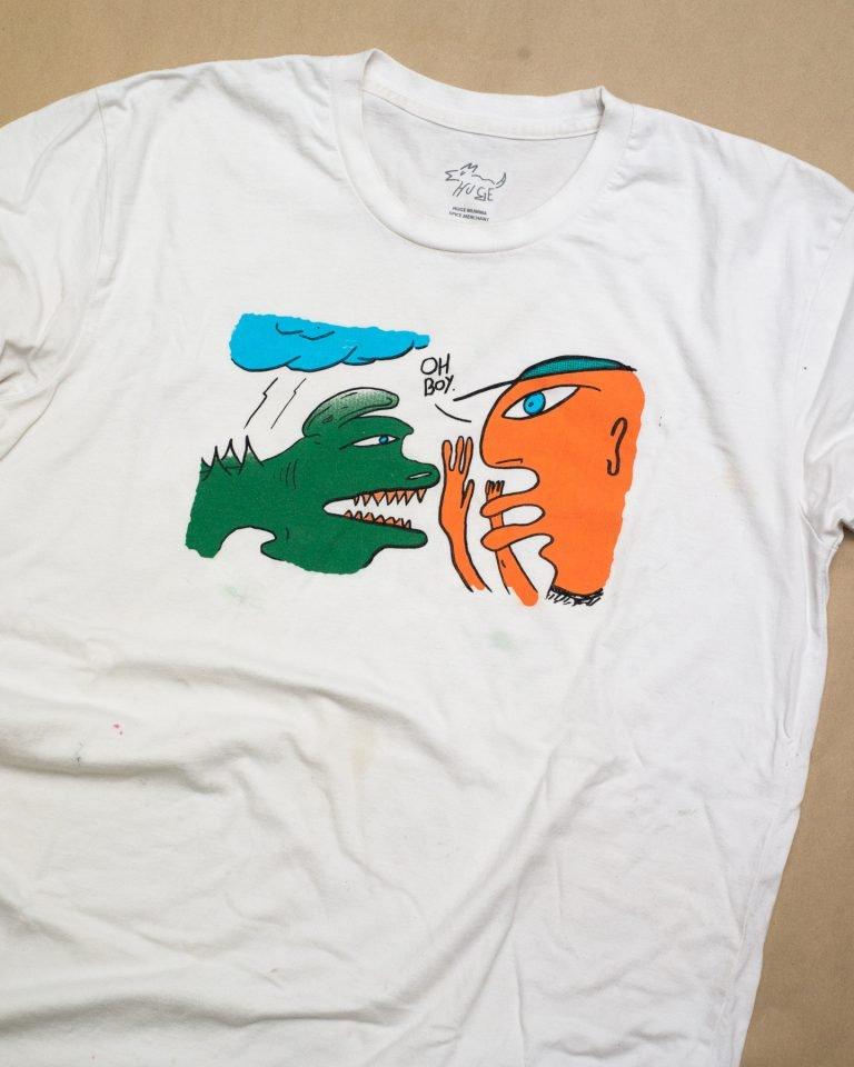 'Oh Boy' t-shirt