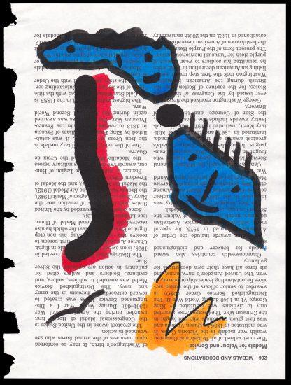 Print on encyclopedia paper
